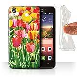 Stuff4 Gel TPU Hülle/Case für Huawei Ascend G620S /