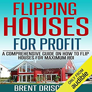Flipping Houses for Profit audiobook cover art