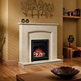 Be Modern 13371x Athena Inset Electric Fire in Black
