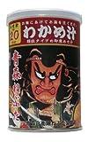 かねさ かねさ ひいふうわかめ汁 祭り缶 118g