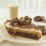 Gourmet Food Gifts! - Sweet Street Chocolate Peanut Butter Gourmet Pie - 14 Slice -- 2 per case.