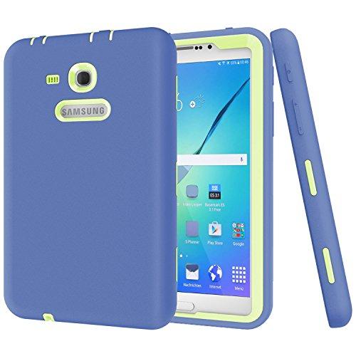 Beimu - Carcasa para Samsung Galaxy Tab 3 Lite 7.0 (Resistente a los Golpes, protección híbrida, para Samsung Galaxy Tab E Lite 7.0 SM-T113 y Tab 3 Lite T110/T111)