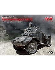 ICM 1/35Panzer 035374II Direct-Action vehículo de reconocimiento P204Kit de plástico Modelo