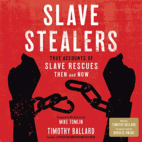 Slave Stealers audiobook cover art