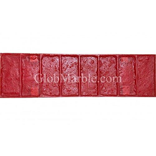 GlobMarble Concrete Stamp Rigid SM 4010/1. Brick Border Concrete Stamp