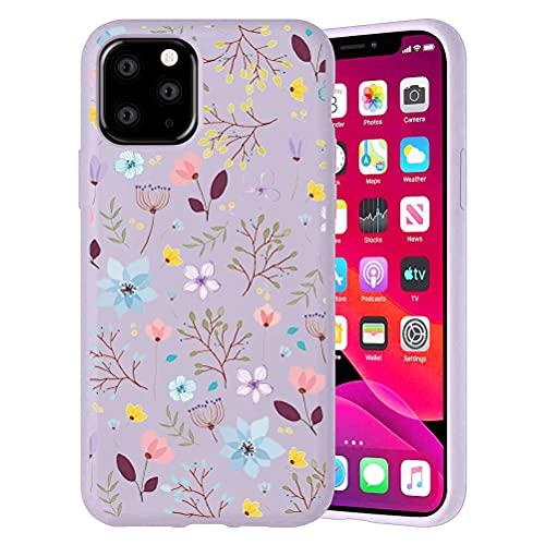 Pnakqil Funda para Apple iPhone 6 Plus / 6s Plus Patrón Silicona Cárcasa, Suave TPU Gel Antigolpes de Protector Piel Case Cover Bumper Case con Dibujos Diseño, Carcasa para iPhone 6s Plus, Flor 2