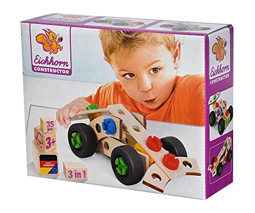 Eichhorn 100039007 Konstruktionsspielzeug, bunt