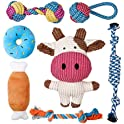 7-Pack Toozey Puppy Toys for Small Dogs