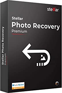 Stellar Photo Recovery Software | for Mac | Premium | Recover & Repair Deleted or Corrupt Photos, Audios, Videos | 1 Device, 1 Yr Subscription | CD