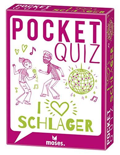 Pocket Quiz Schlager | 150 Fragen und Antworten für Schlagerfans: 150 Fragen für alle Schlagerfans! (Pocket Quiz / Ab 12 Jahre /Erwachsene)