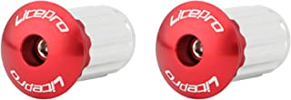 Dingyue 1 Paar Legering Racefiets MTB Fietsen Stuur Cap End Grip Gekleurde Handvat Plug Cover