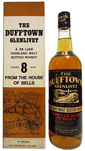 Photo of Dufftown – Glenlivet Deluxe Highland Malt – 8 year old Whisky
