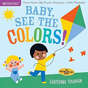 Indestructibles  Baby See the Colors!  Chew Proof · Rip Proof · Nontoxic · 100% Washable  Book for Babies Newborn Books Safe to Chew