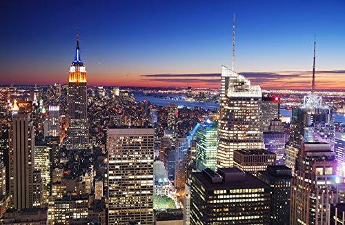 Bilderdepot24 Papier Peint intissé - New York, New York - 155x100 cm - pâte Inclus - Vente directe Fabricant!