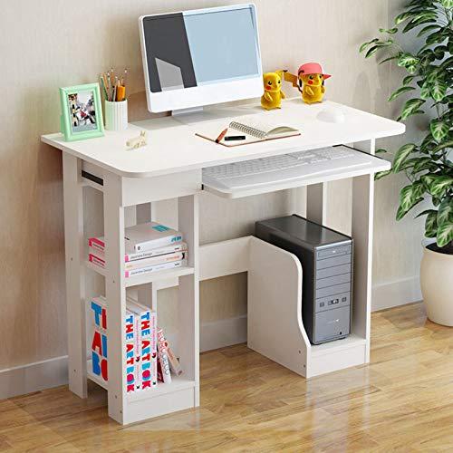 【US Stock】- Arystk Desktop Home Computer Desk Minimalist Multifunction Laptop Table Desk Writing Desk