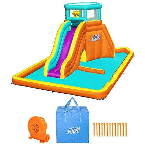 H2OGO! Tidal Tower Kids Inflatable Mega Water Park -  HTG, 53386E