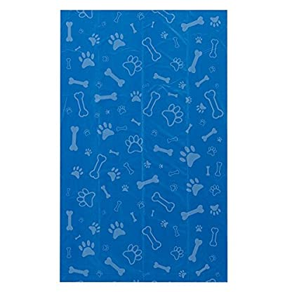 Best Pet Supplies Dog Poop Bags, Rip-Resistant and Doggie Waste Bag Refills with d2w Controlled-Life Plastic Technology - Pack of 150, Blue (Unscented) 3
