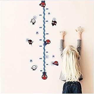 Wall Stickercartoon Height Measure Chart Wall Sticker for Kids Rooms Children's Growth Chart Wall Decals Boy's Room Decor Mural
