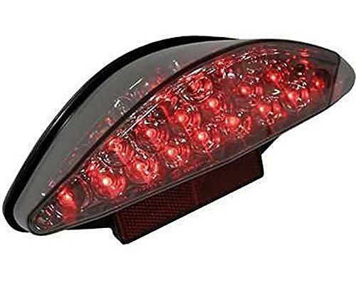 Rücklicht Motorrad LED, SUPER BIKE 2, getönt, kennzeichenbeleuchtung, Bremslicht