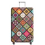 Elastisch Kofferschutzhülle Mandala Bohemian Kofferhülle Kofferschutz Kofferbezug Gepäck Luggage Cover mit Reißverschluss XL 29-32 Zoll