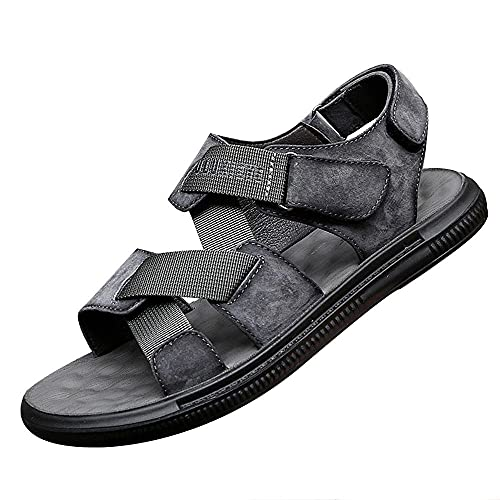 Sandalias para Pescador Hombre,Unisex Zapatillas de Playa Sandalias Piscina Zapatos de Jardín Respirable Casual Pantuflas,gray_43