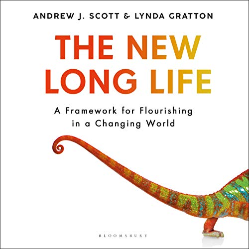 The New Long Life Audiobook By Andrew J. Scott, Lynda Gratton cover art