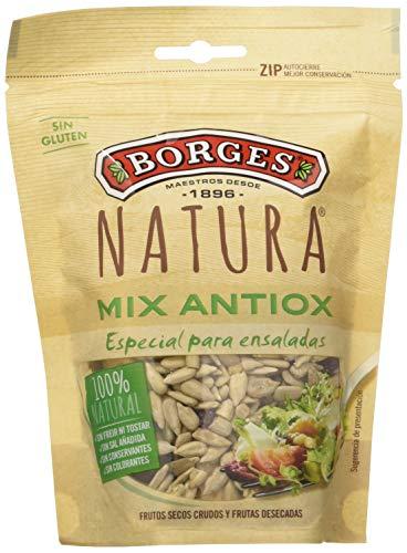Borges Cocktail Natura Frutos Secos Crudos y Frutas Desecadas - 130 gr