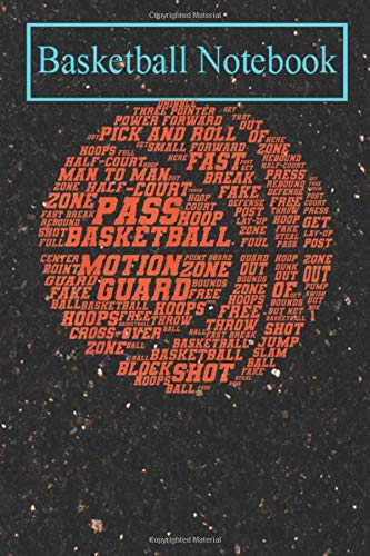 Basketball Planner: Cool Men Women Basketball Player Gift Cute Sports Lovers T-Shirt-kgqFP Basketball College Ruled Lined Pages Book