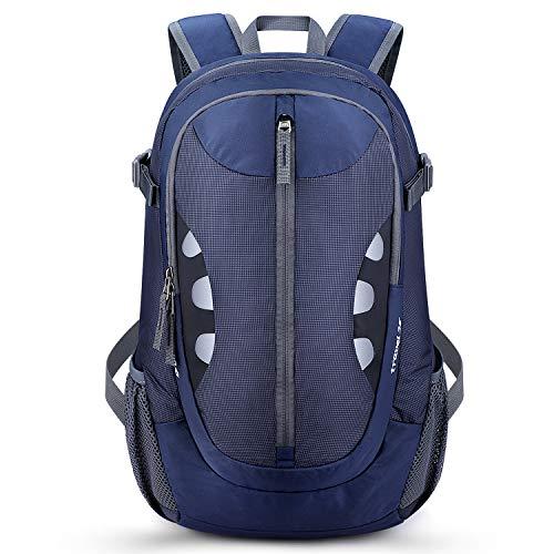 G4Free Hiking Backpack Travel Rucksack Lightweight 25L Small Water Resistant Daypack Outdoor Walking Cycling Climbing Trekking for Men Women