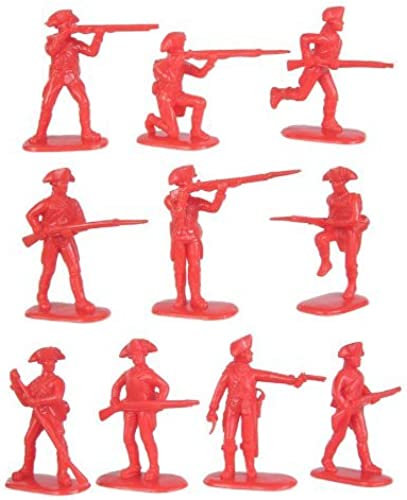 American Revolution British Army Infantry (20) 1-32 Armies in Plastic by Armies in Plastic