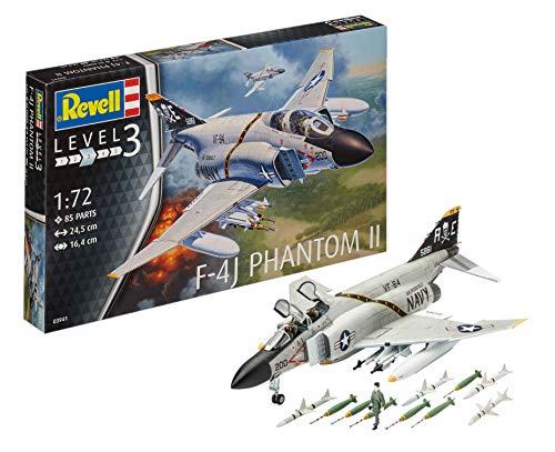 Revell-F-4J Phantom II, Kit de Modelo, Escala 1:72 (3941) (03941), 24,5cm