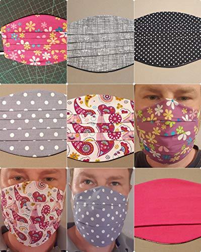 Community Maske, Mund und Nasenmaske, Mundbedeckung, Behelfsmaske, Baumwolle individuell 3