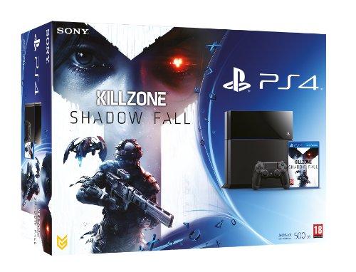 NEW! Sony Playstation 4 PS4 500GB Console Black UK Killzone Shadow Fall Bundle