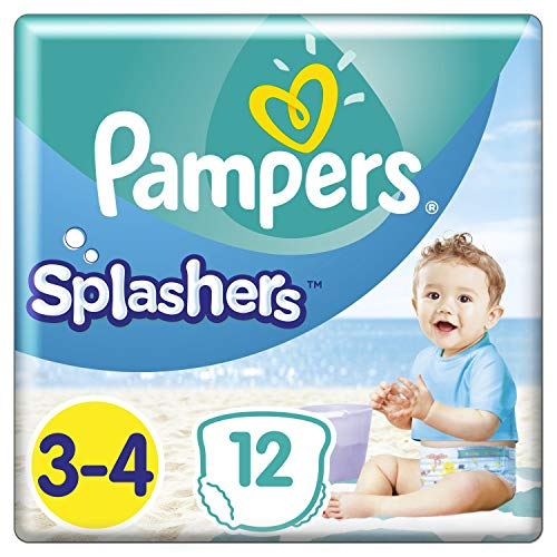 Pampers Splashers Grösse 3-4 Tragepack
