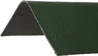 ONDURA 5254 Corrugated Asphalt Roof Ridge Cap, Green
