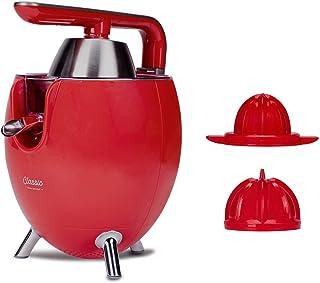 NEWCHEF-Presse-agrumes électrique Classic rouge pour oranges et citriques, 300W avec double cône, système Anti-fuite et ma...