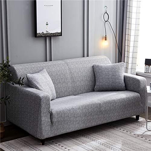 Funda de Spandex Universal Antideslizante para sofá para Funda de sofá elástica Funda de sofá elástica para Sala de Estar A17 de 4 plazas