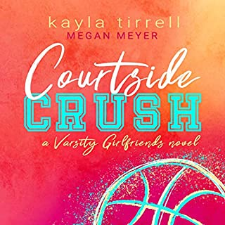 Courtside Crush audiobook cover art