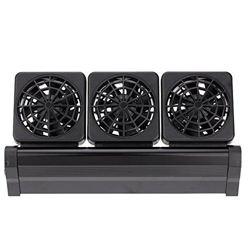 Bedler Raffreddamento Ventola Acquario Vento Freddo refrigeratore Regolabile 2 Livello Vento 100-240V Cooling Fan