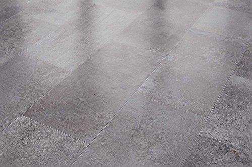 Visiogrande Laminat Fliese Zementestrich Taupe 8 mm