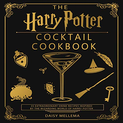 『The Harry Potter Cocktail Cookbook』のカバーアート