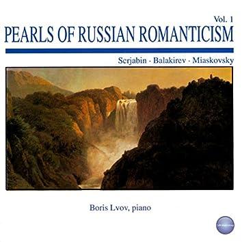 Scrjabin, Balakirev, Miaskovsky: Pearls of Russian Romanticism Vol. 1 (Live Recording, 1989)