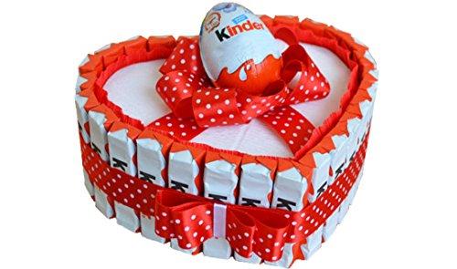 IRPot - Torta barrette Kinder a cuore - kit fai da te KITK09
