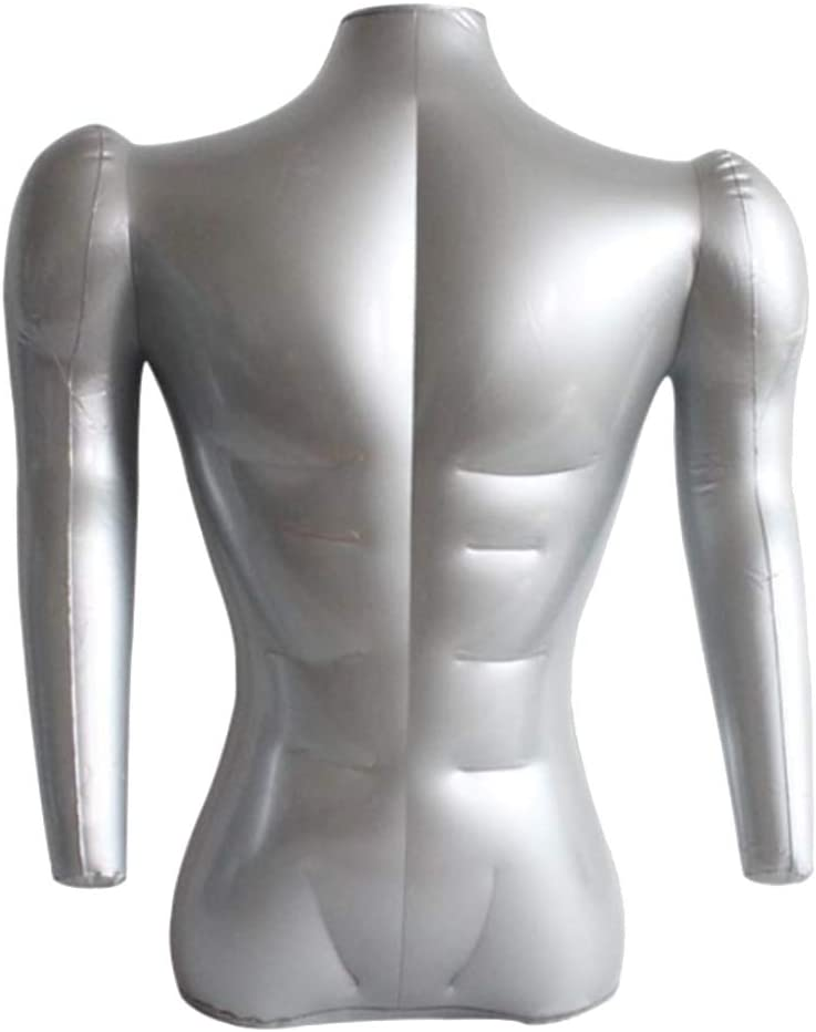Inflatable Bust Save money Form Adult Male Max 73% OFF Display with Mannequin Mod Dummy