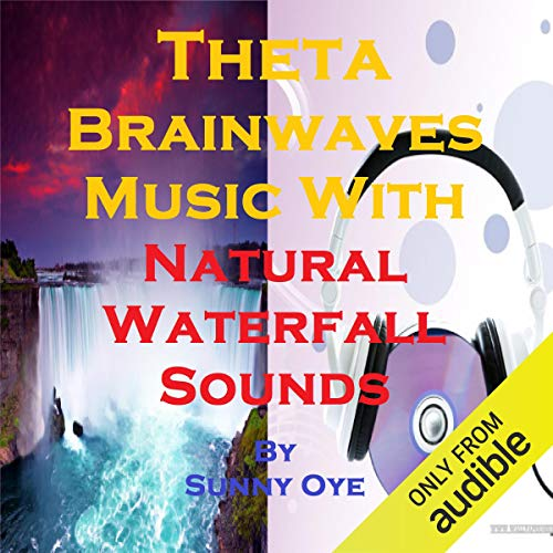 Theta Brainwaves Music Mixed with Natural Waterfall Sounds cover art
