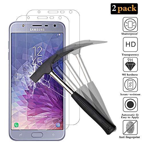 ANEWSIR Schutzfolie für Samsung Galaxy J7 Duo 2018 [2 Stück], Einfache Installation, Bubble-frei, HD klar, Bildschirmschutzfolie für Samsung J7 Duo (2018) SM-J720F/DS