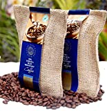 Cafe Blue 100% Jamaica Blue Mountain Coffee Beans (8oz)