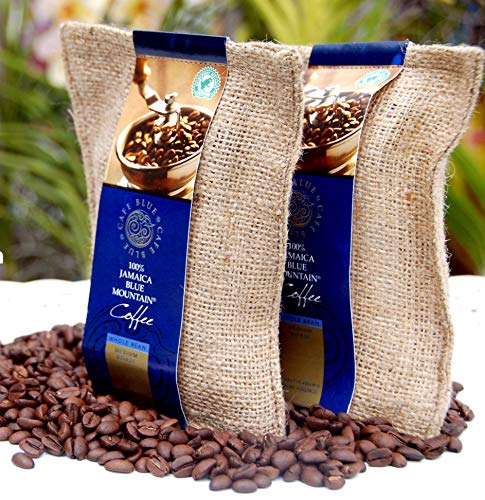 Coffee Traders Café Blue 100 % granos de Blue Mountain de Jamaica Café (227 g)
