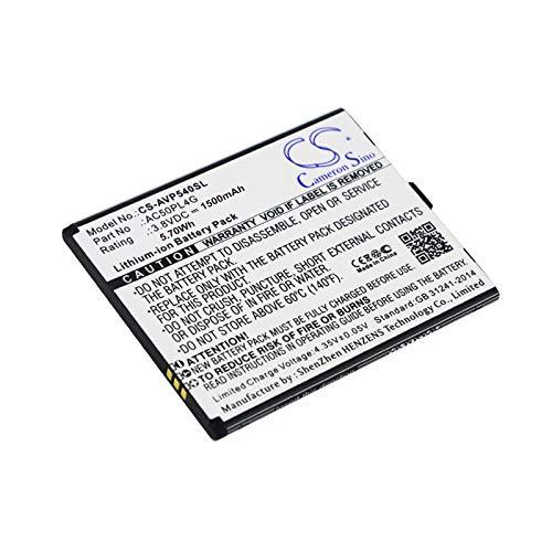 CS-AVP540SL Batteria 1500mAh compatibile con [ARCHOS] 50 Platinum 4G, per [INTEX] Cloud Tread sostituisce AC50PL4G, per BR22024BR