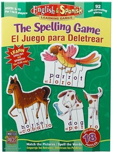 entrega rápida Spelling Game by Master Pieces Pieces Pieces  oferta especial